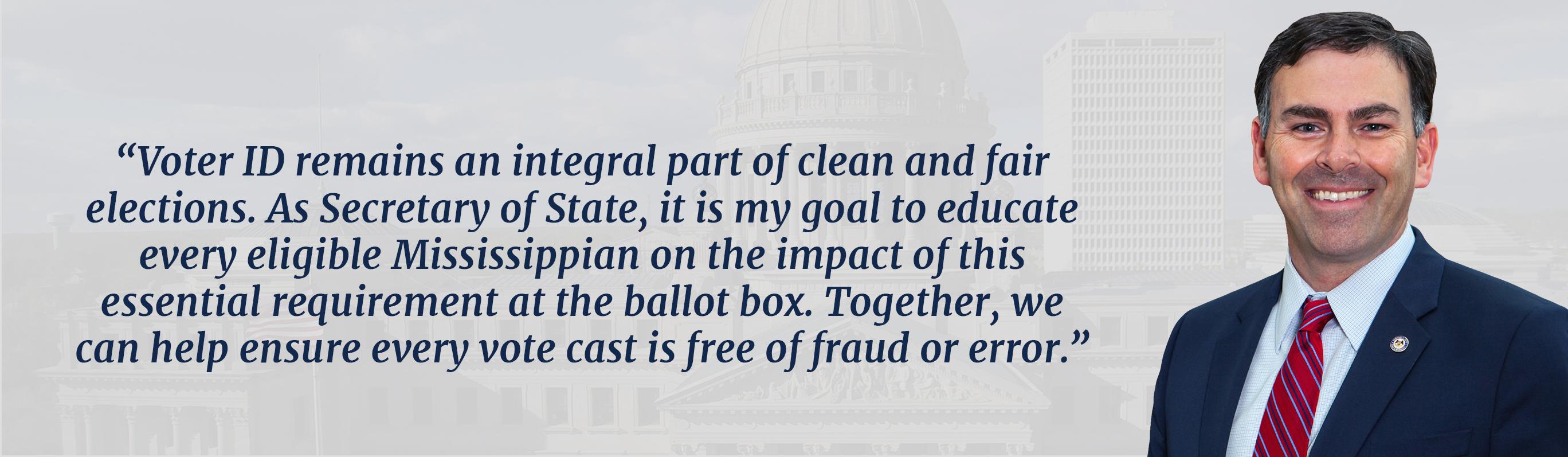 Voter ID Header
