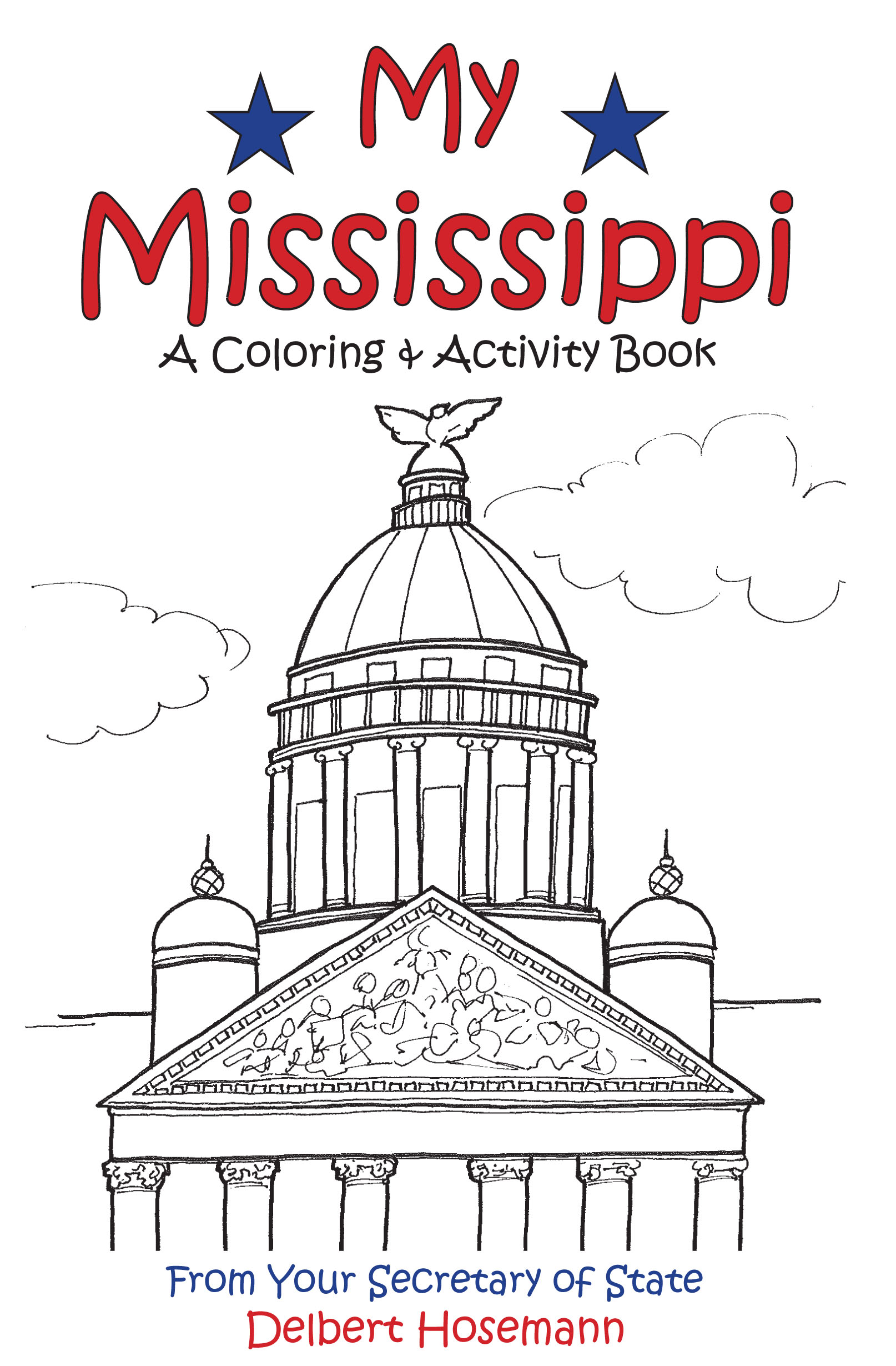 My Mississippi Coloring Book